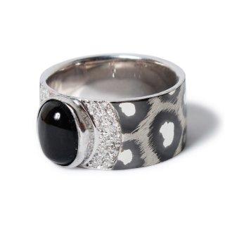 Teodora ring SV925【BlackStar Sapphire】