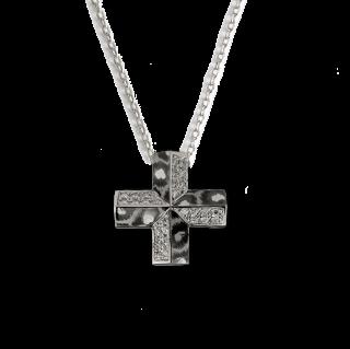 Masa necklace SV925【Brilliant -cut diamonds】