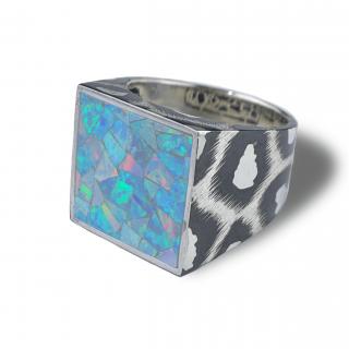 Mariana ring SV925【Opal】