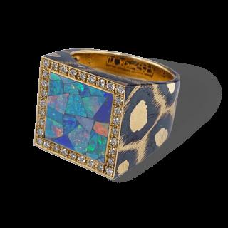 Mariangela Ring K18 [Opal]
