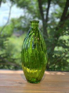 JARRON OLA 31cm ガラス花瓶 グリーン