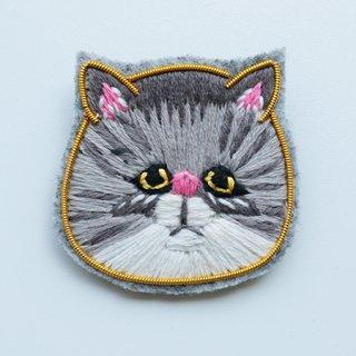 NL1002201105  Brooch feline 2