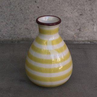 DK1002201937 Vase ボーダーイエロー