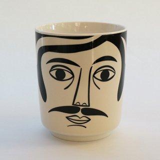 NL1002210638  ミスターハミルトン 男性顔鉢カバー