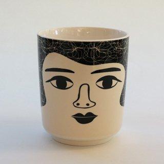 NL1002210640 ミセスバウアー 女性顔鉢カバー