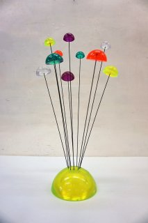 1960-70's マッシュルームモチーフ キネティック スカルプチャー