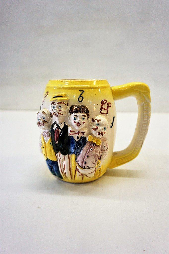 1950's ヴィンテージ セラミック マグカップ / オブジェ