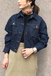 Loosesilhouette denim jacket