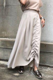 String flare skirt
