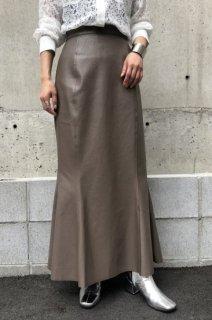 Leather mermaid skirt