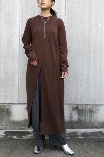 Front slit long tunic