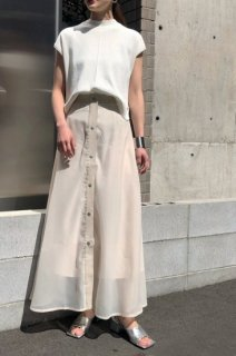 Sheer layered skirt