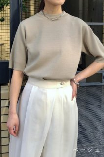 Milan rib half sleeve knit