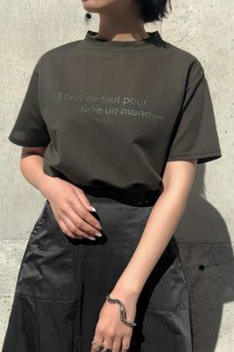 Sheer logo T-shirt