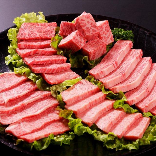 国産黒毛和牛焼肉[5種]食べ比べセット