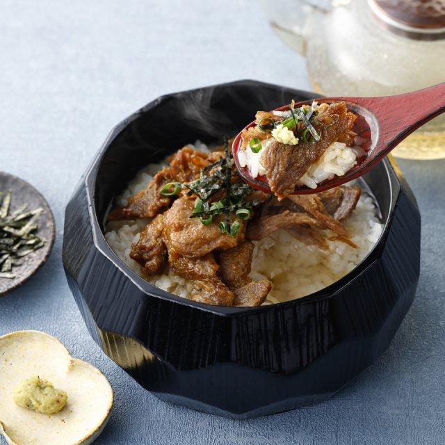 神戸牛まぶし茶漬けセット[茶碗2〜3膳分]