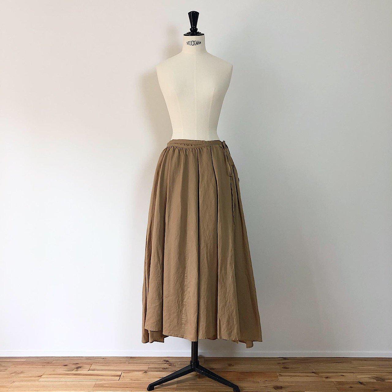 suzuki takayuki <BR> long skirt ・ beige