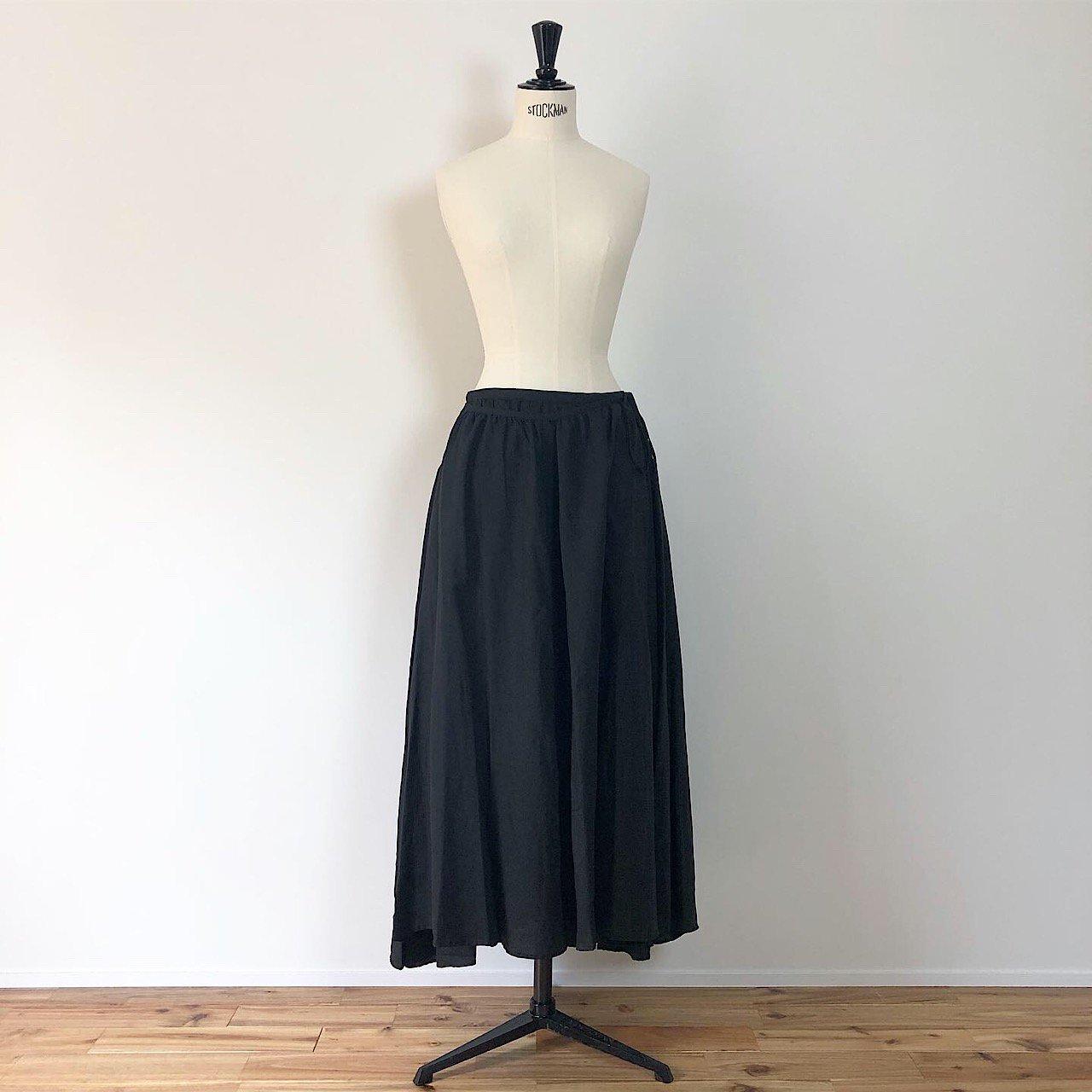 suzuki takayuki <BR> long skirt ・ black