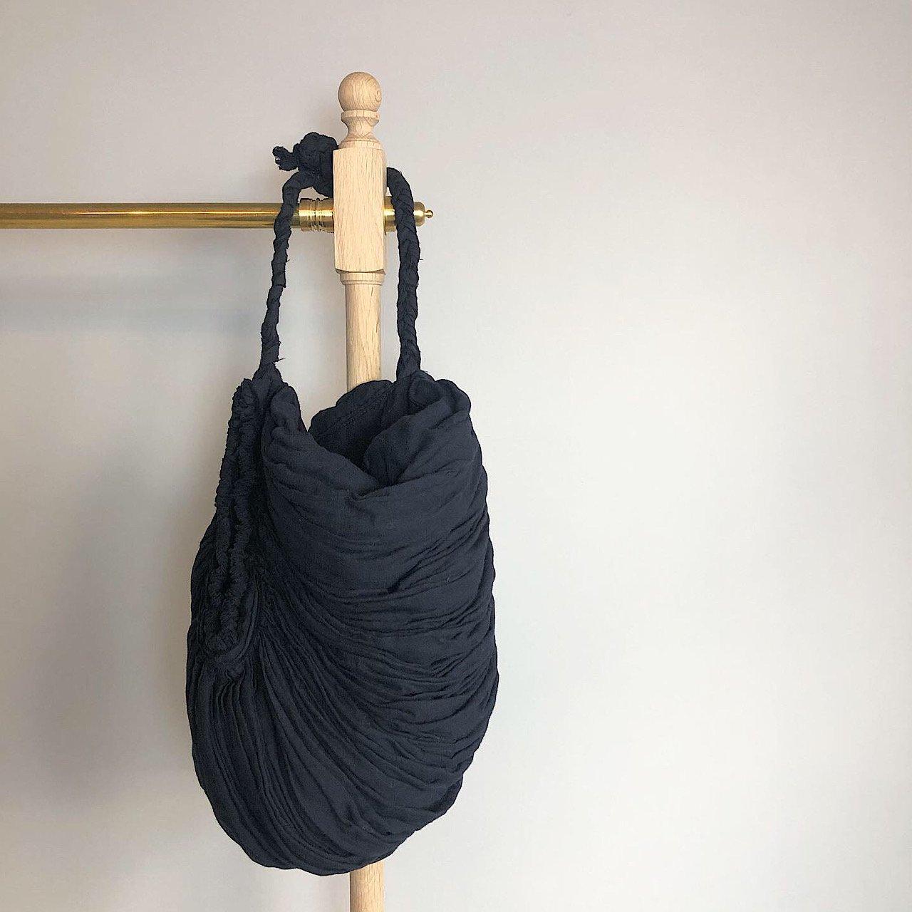 suzuki takayuki <BR> gather bag  ・ black