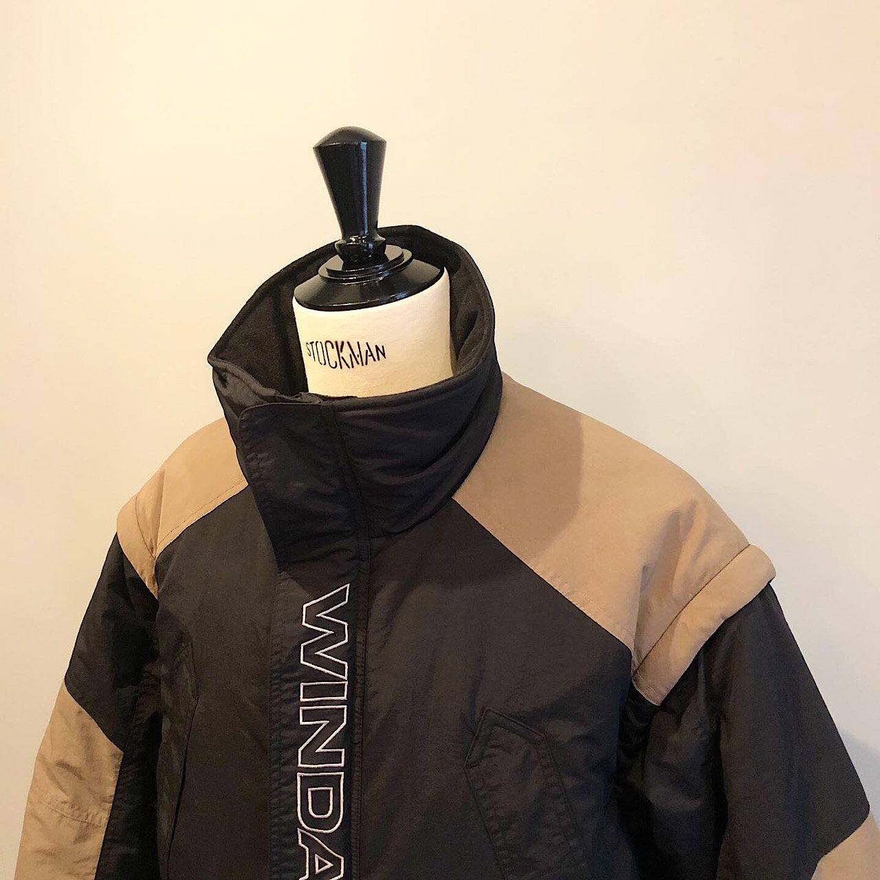 WIND AND SEA<BR>DETCHABLE BLOUSON<BR>GRAY