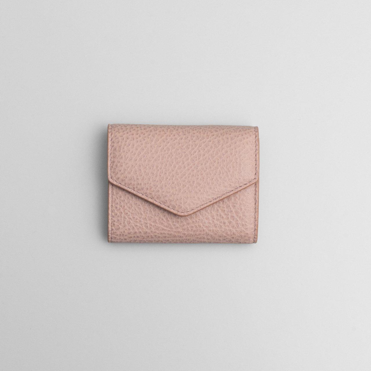 Maison Margiela PARIS <BR>アコーディオン レザー ウォレット<BR>ピンク