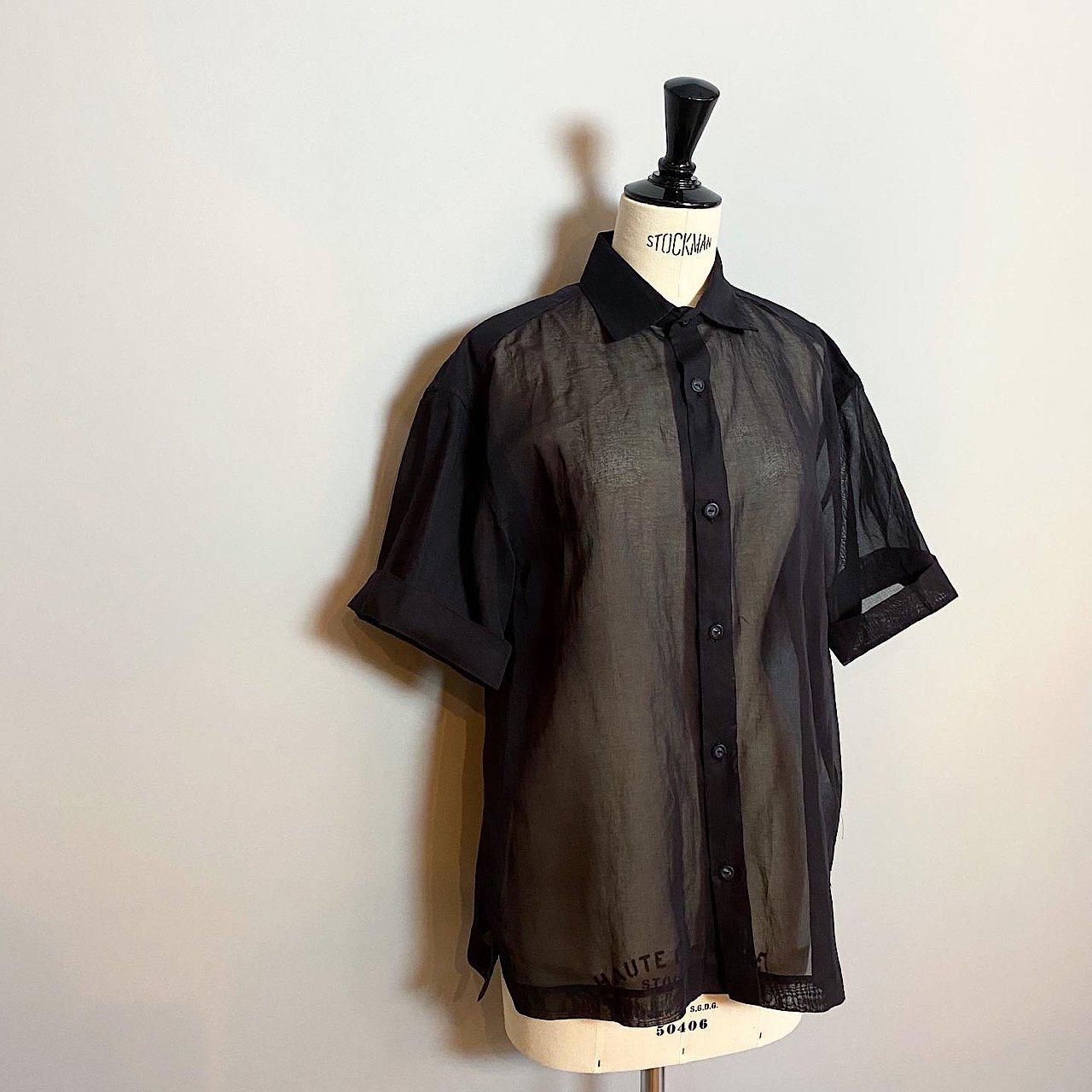 SINME オーバーサイズシャツ<BR>ネイビー