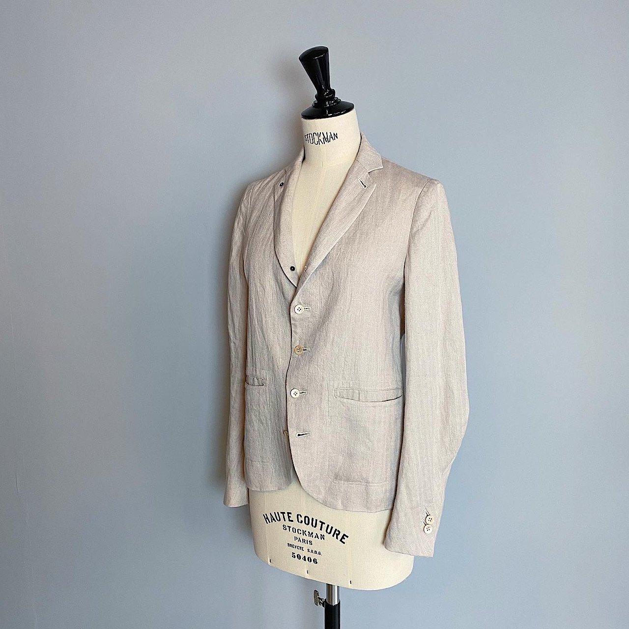 suzuki takayuki <BR> short jacket  ・ beige