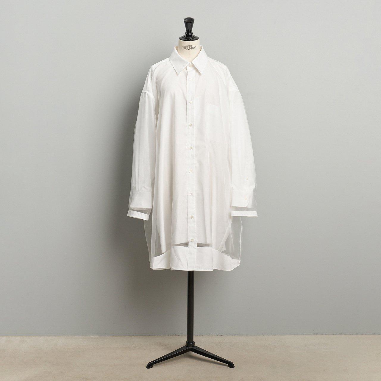 Maison Margiela PARIS <BR>パネルシャツドレス <BR>