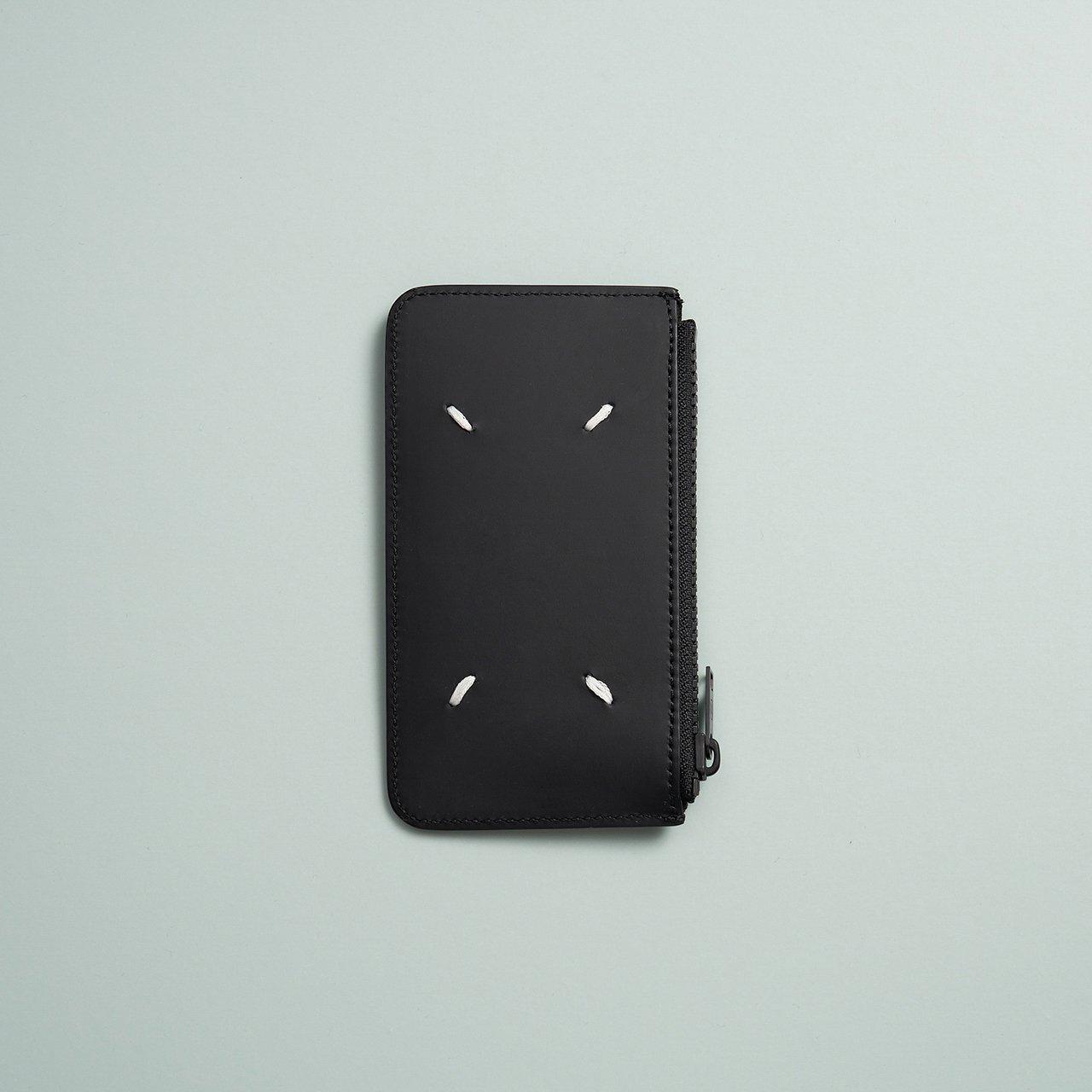 Maison Margiela PARIS <BR>カード&コインケース<BR>ブラック