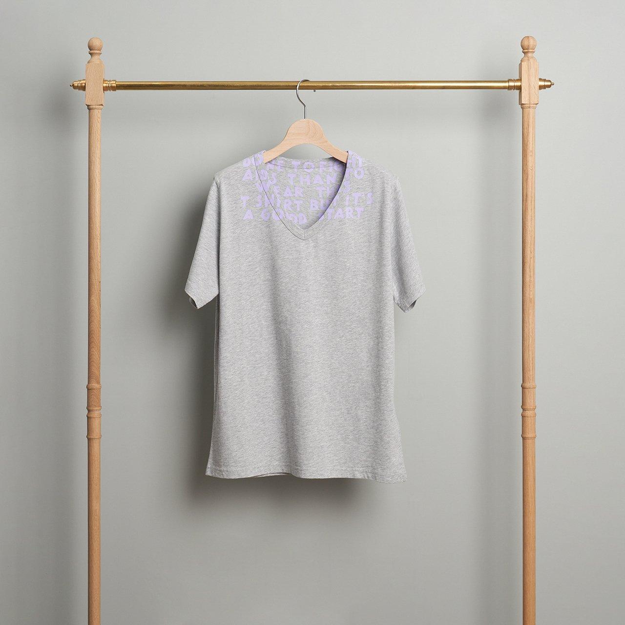 Maison Margiela PARIS <BR>VネックTシャツ<BR>