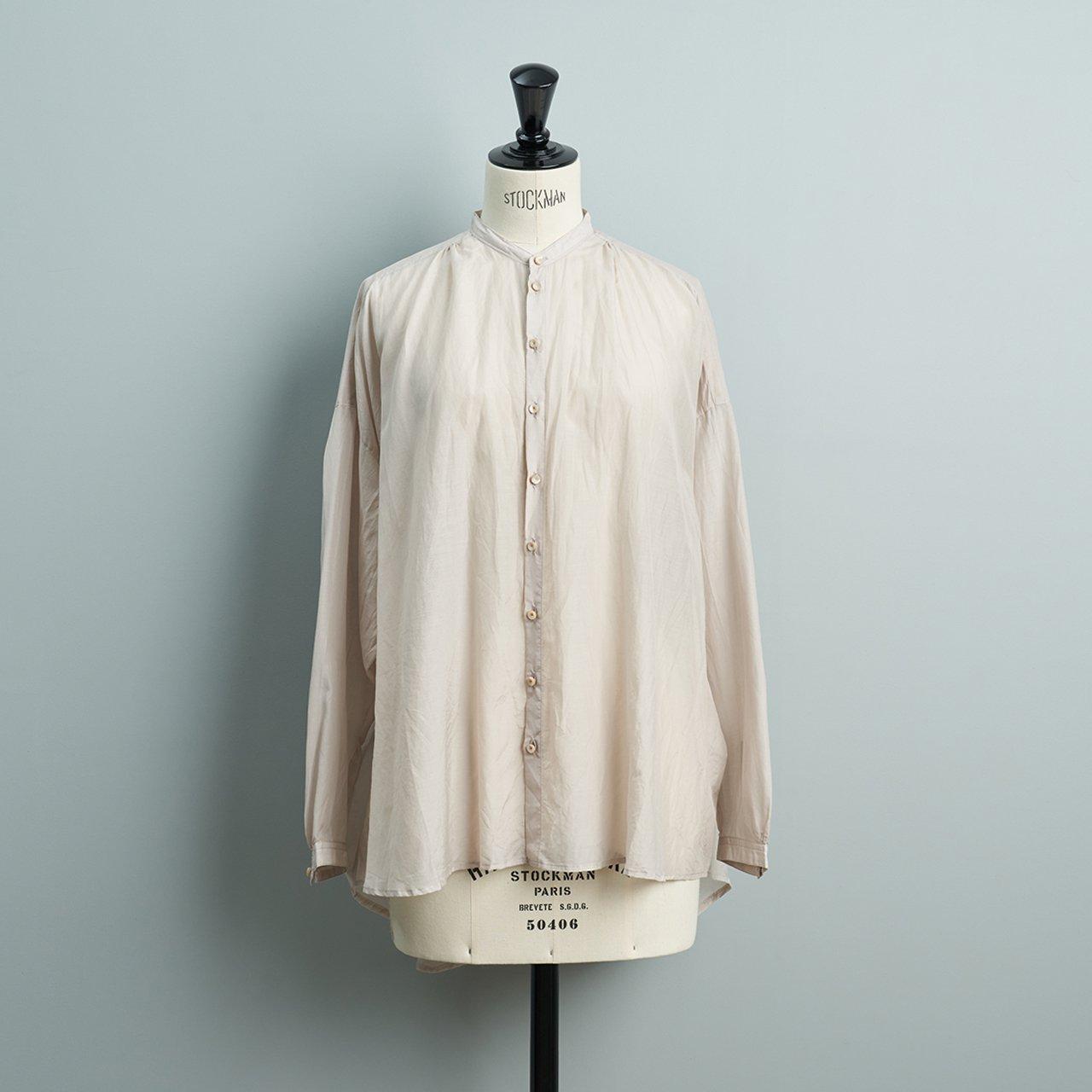 suzuki takayuki <BR>over blouse<BR>ice grey