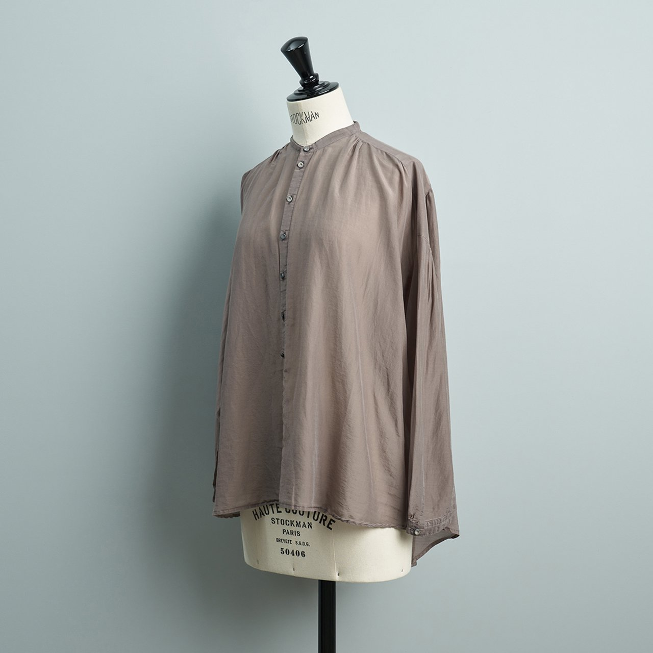 suzuki takayuki <BR>over blouse<BR>grey