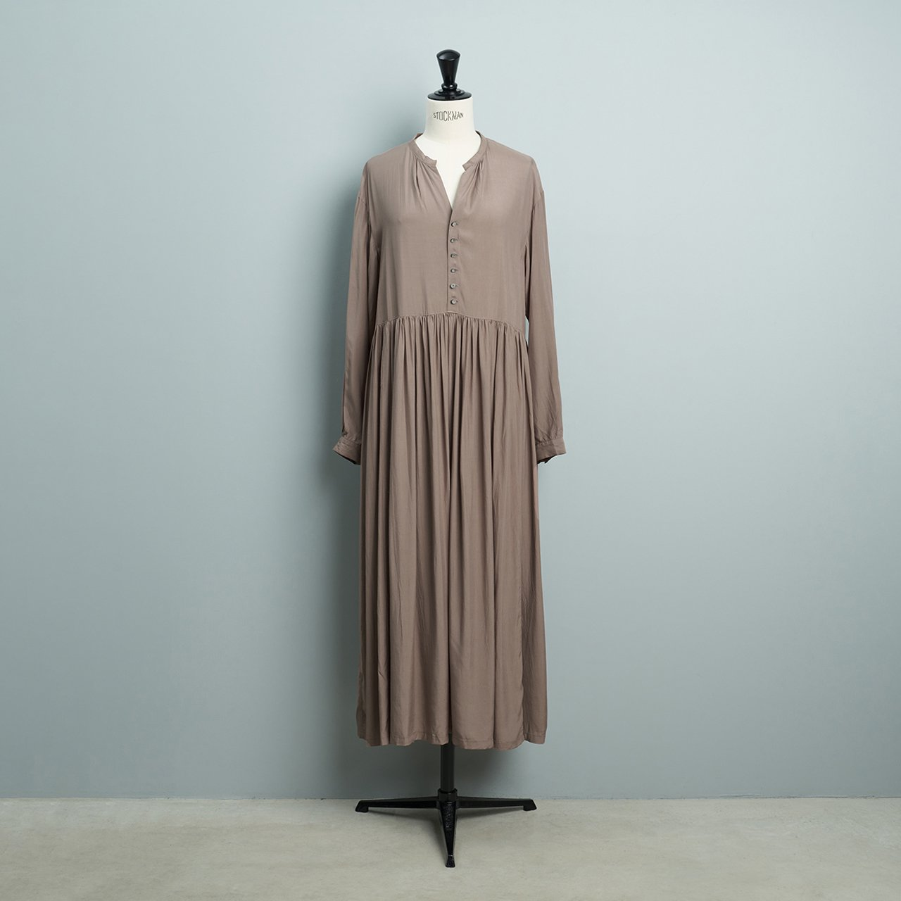 suzuki takayuki <BR>pull-over dress<BR>grey