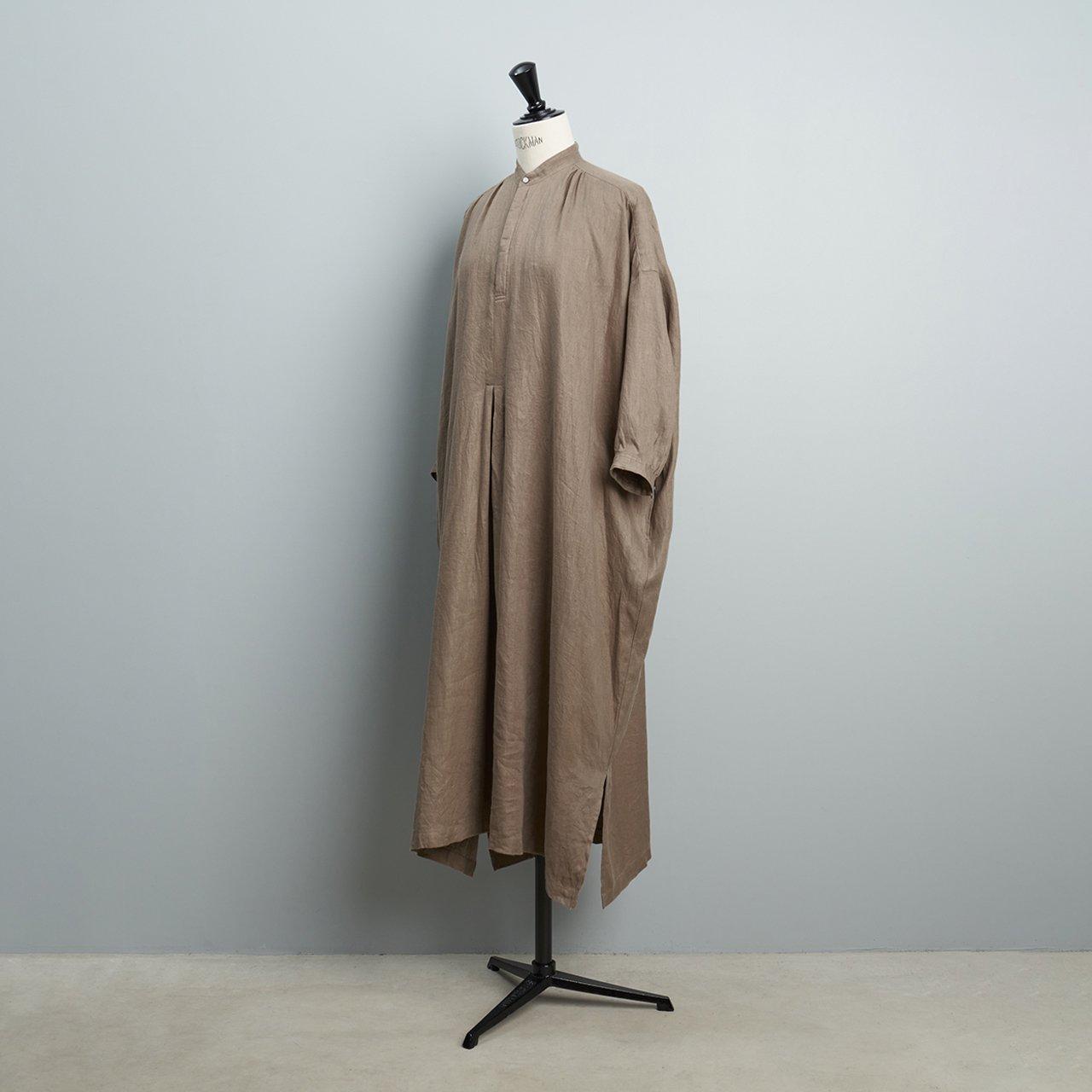 suzuki takayuki <BR>peasant dress<BR>grey