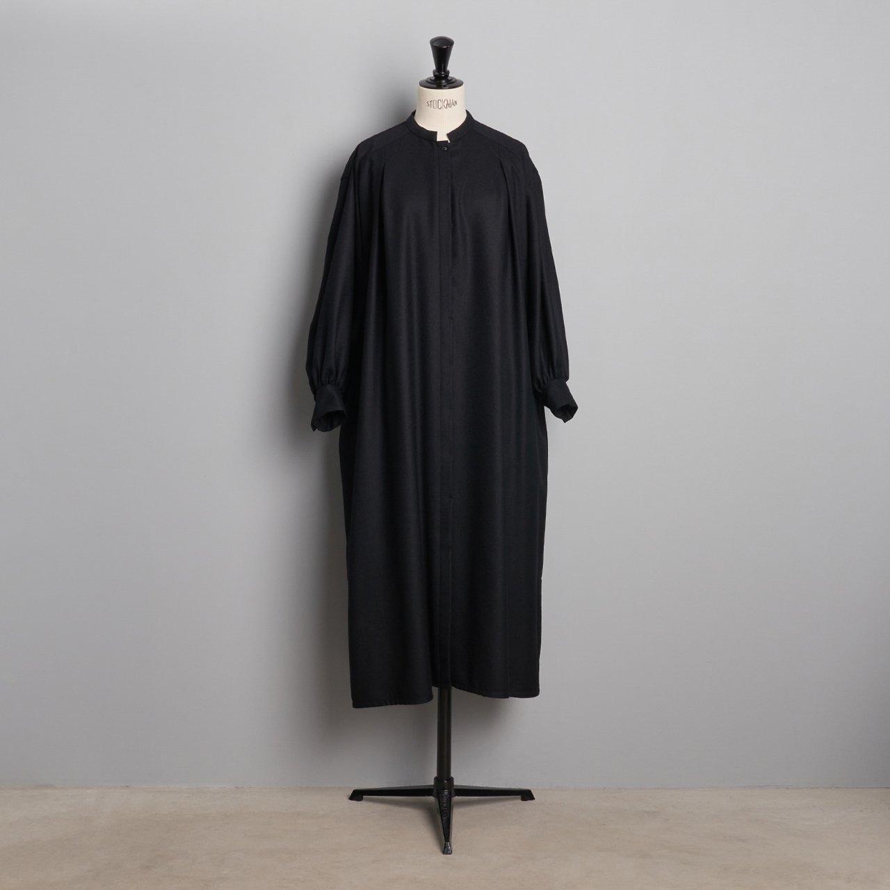SINME<BR>スモックドレス<BR>ブラック