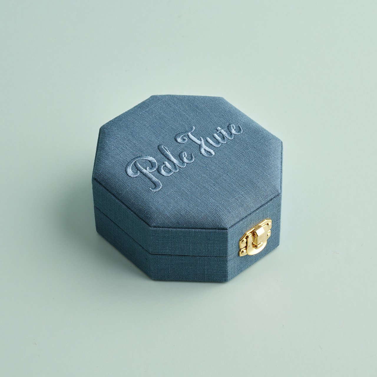 Pale Jute ジュエリーボックス small<BR>SAX GREY