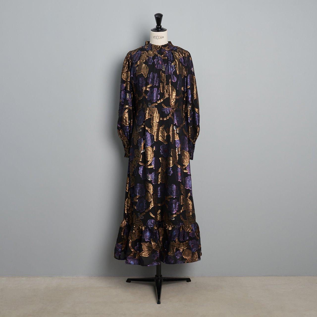 Sea New York L/S Dress<BR>BLACK