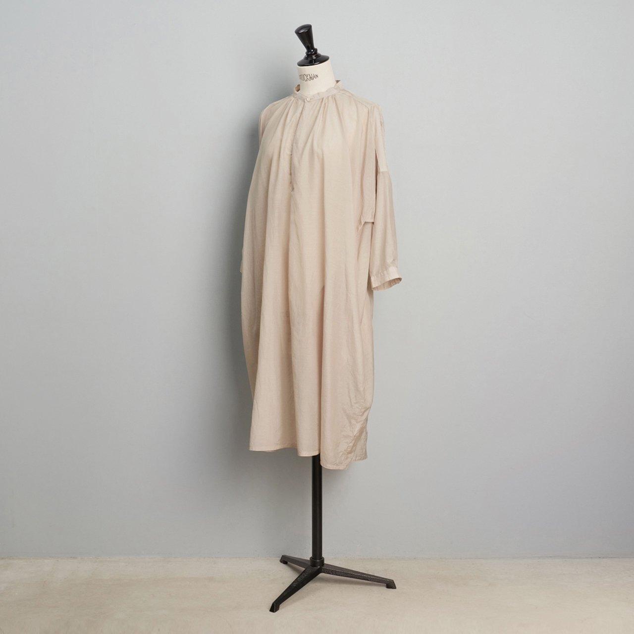 suzuki takayuki <BR>feather dress<BR>ice grey