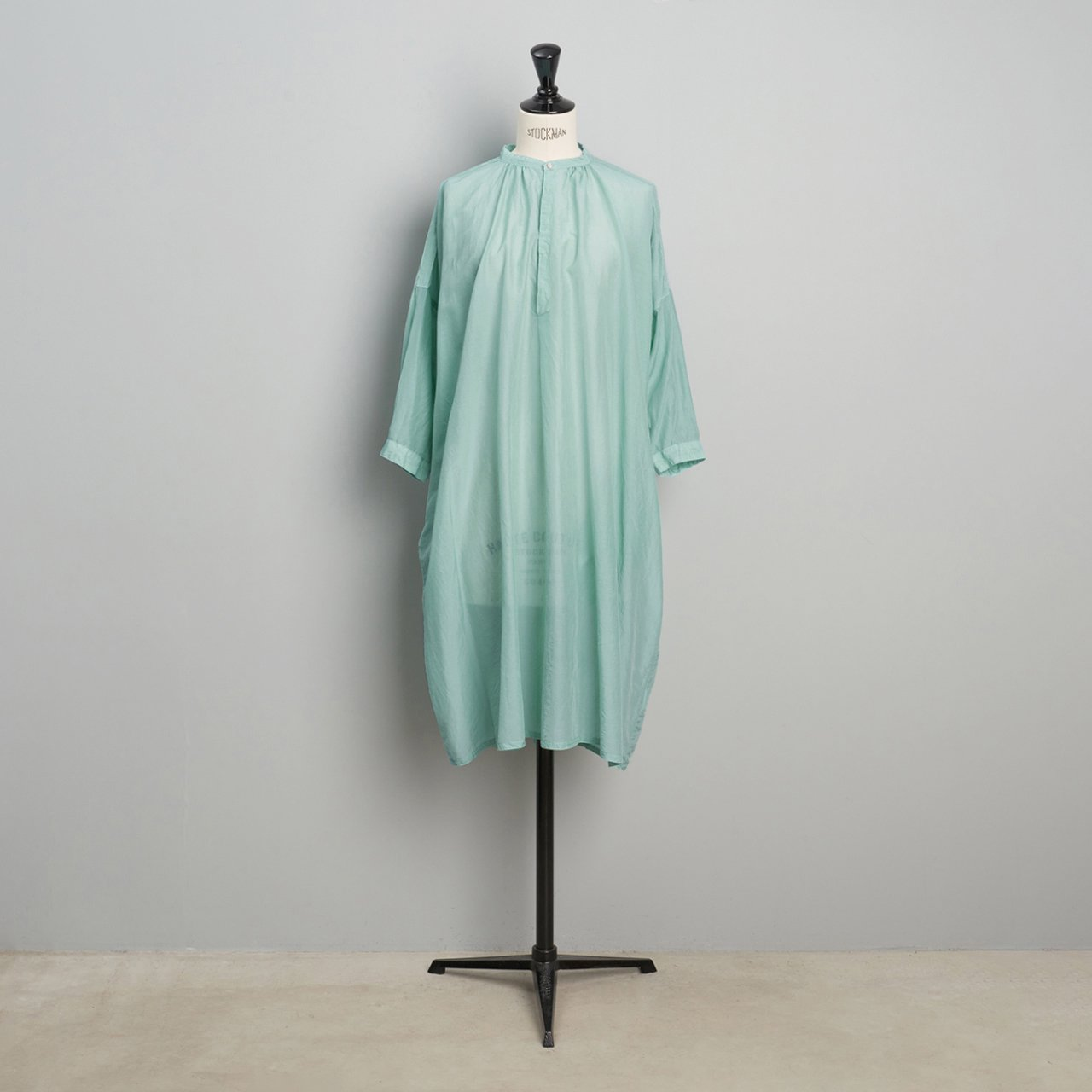 suzuki takayuki <BR>feather dress<BR>spray green
