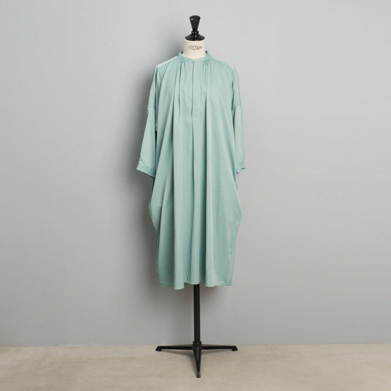 suzuki takayuki<BR>slip-on dress <BR>Spray green