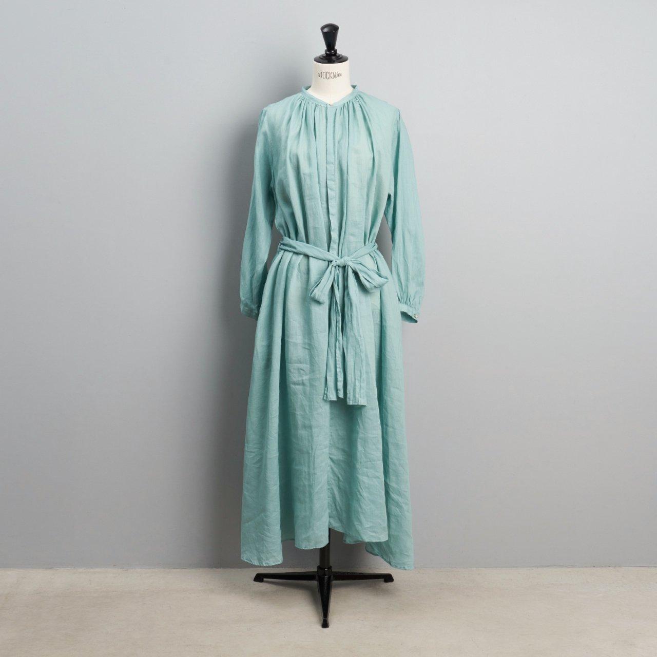 suzuki takayuki <BR>flared dress<BR>Spray green