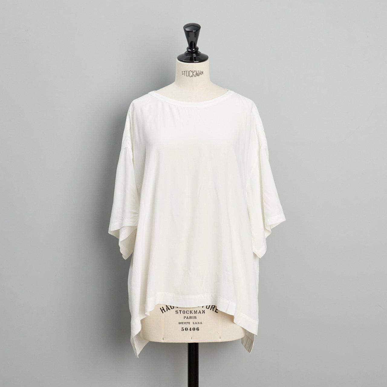 suzuki takayuki<BR>pullover blouse<BR>nude