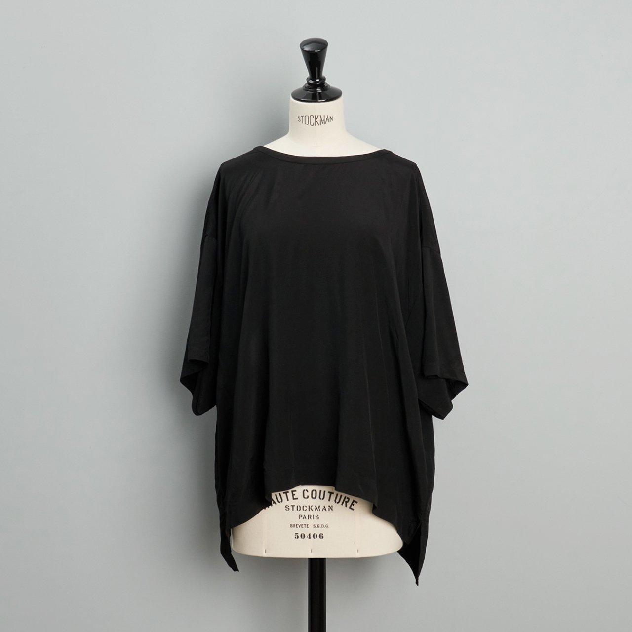 suzuki takayuki<BR>pullover blouse<BR>black