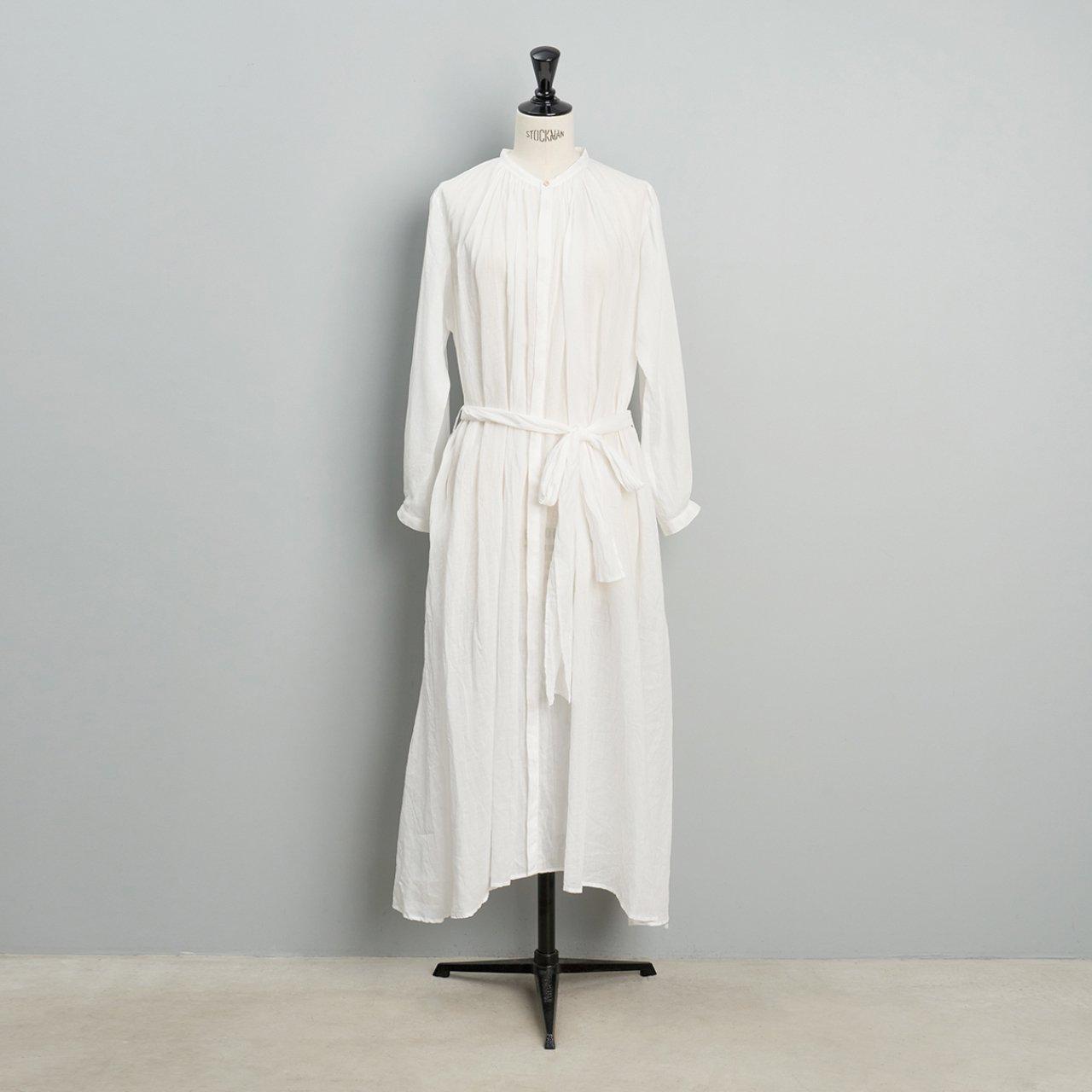 suzuki takayuki <BR>flared dress<BR>nude