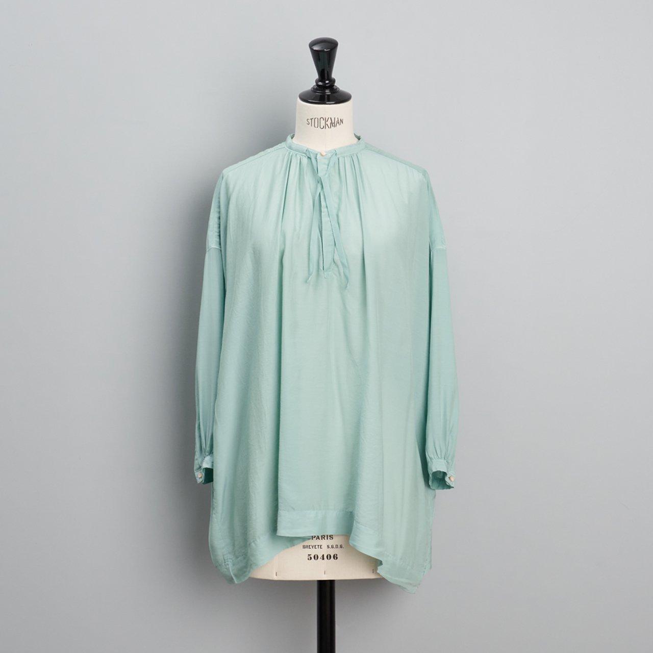 suzuki takayuki<BR>slip-on blouse<BR>Spray green