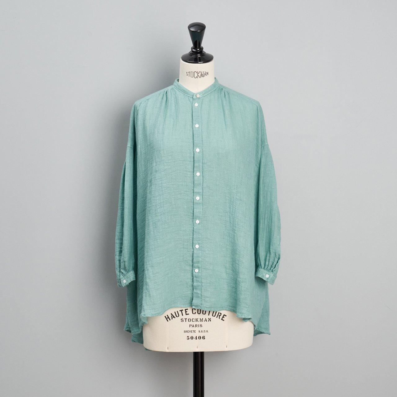 suzuki takayuki<BR>over blouse<BR>Spray green