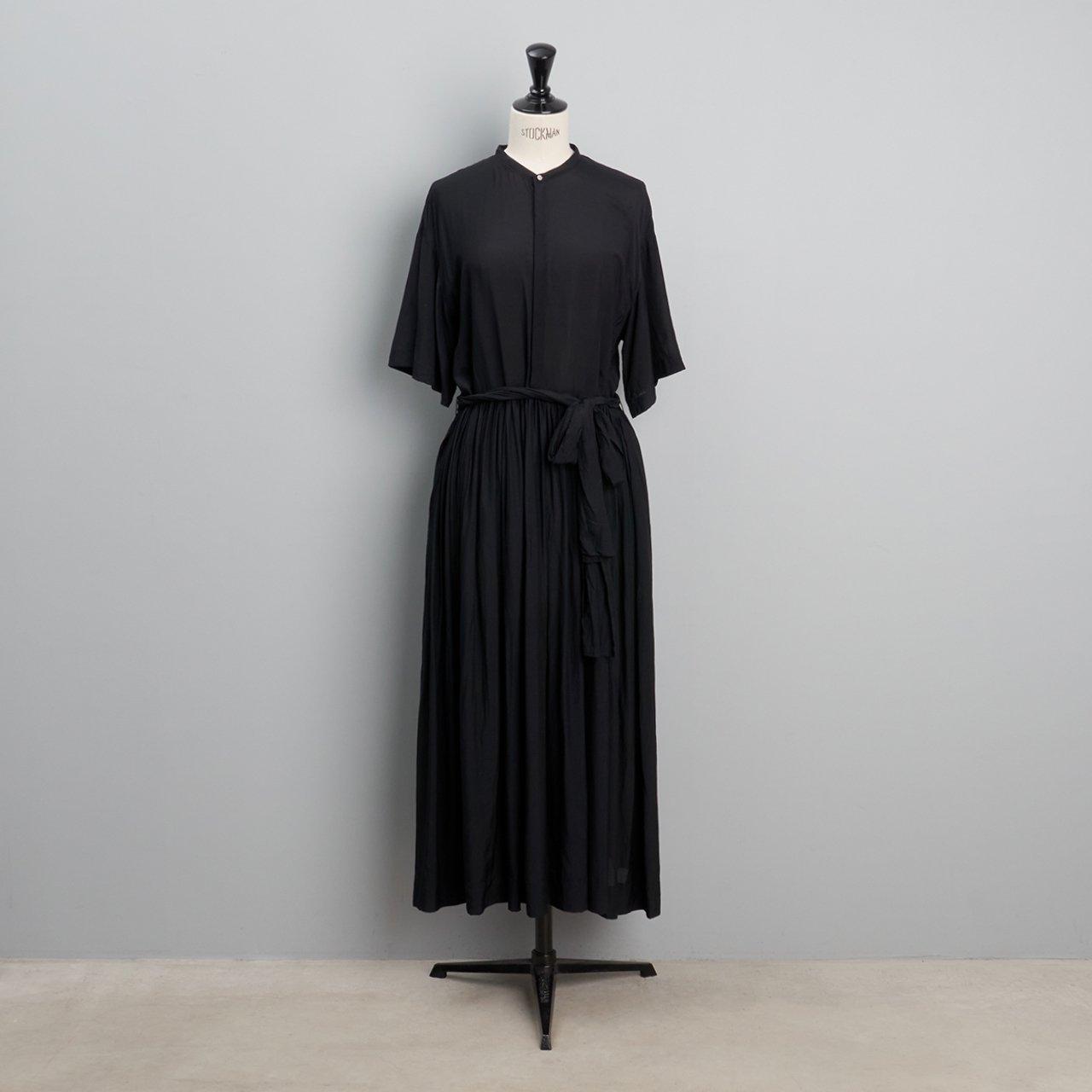 suzuki takayuki<BR>pullover dress<BR>black