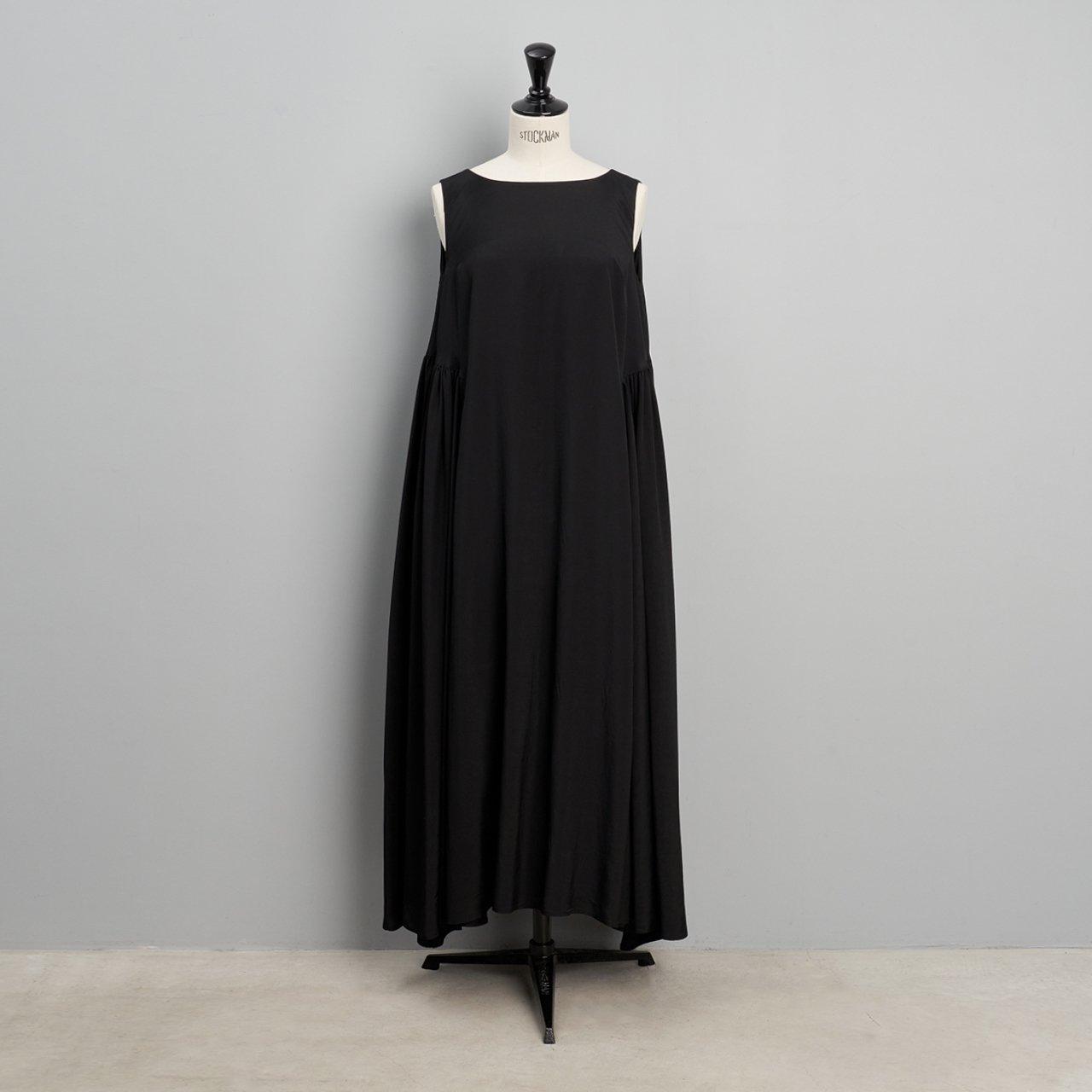 suzuki takayuki<BR>Sleeveless dress<BR>Black