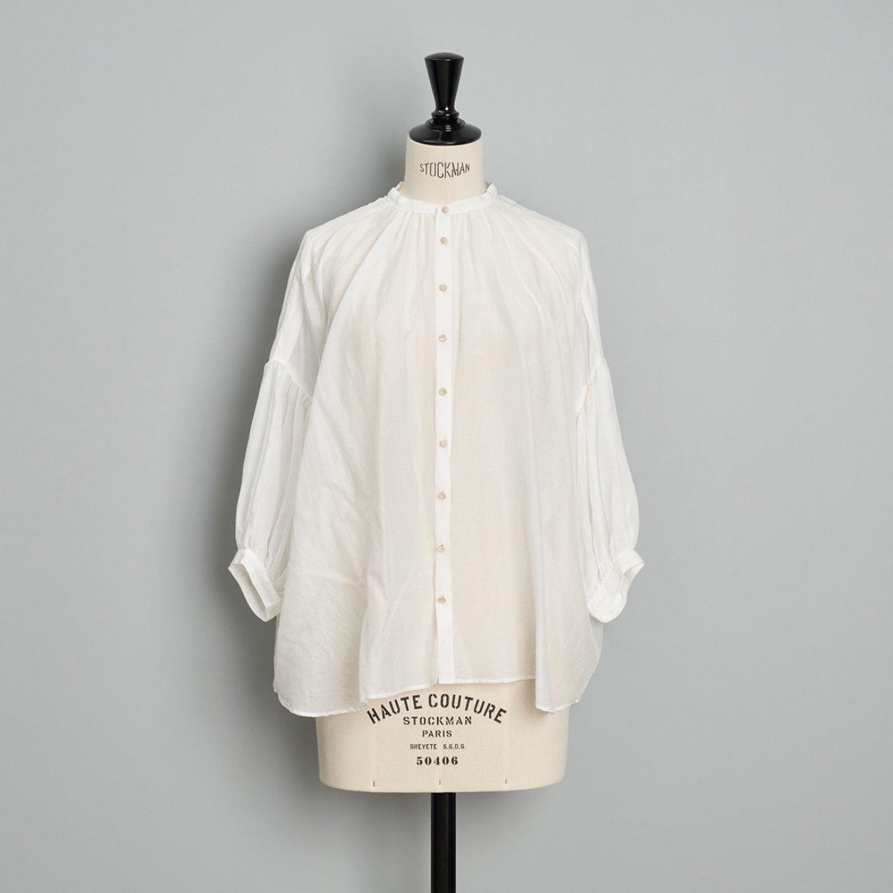 suzuki takayuki<BR>puff sleeve blouse<BR>nude