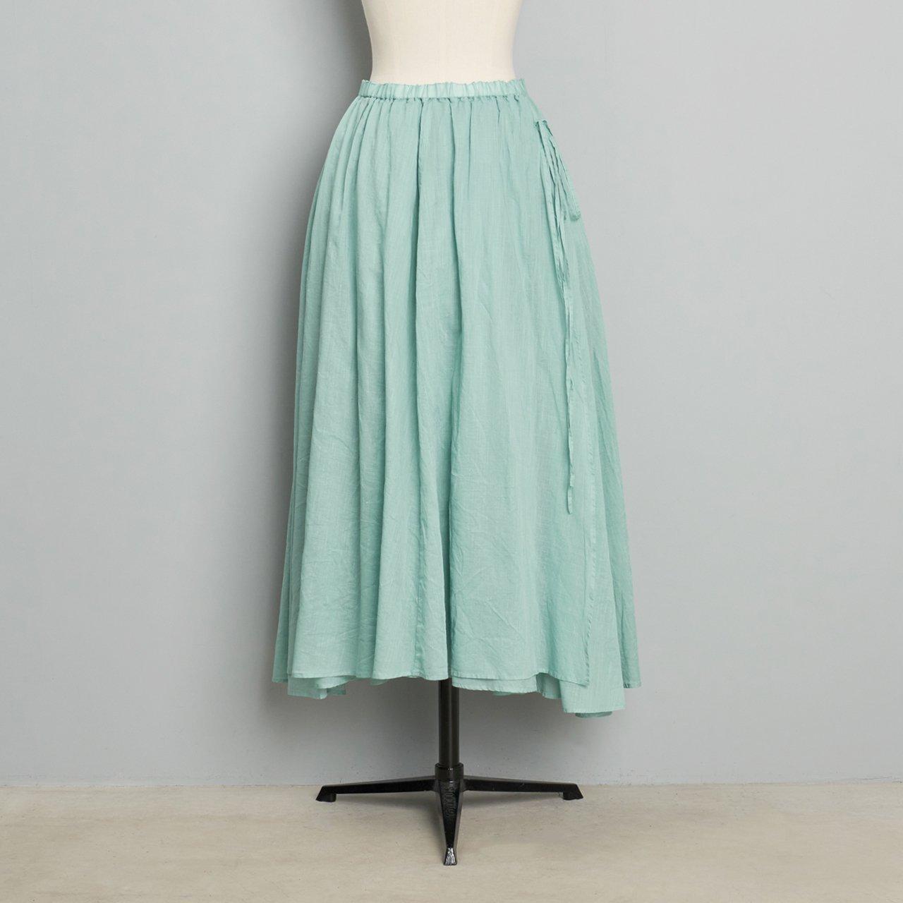 suzuki takayuki<BR>long skirt<BR>spray green